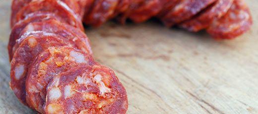 Recetas de Chorizo en España