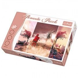 Mesebeli táj, Trefl Romantic puzzle, 1000 db