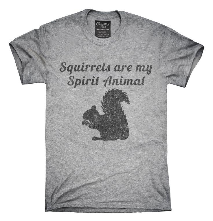 Squirrels Are My Spirit Animal T-Shirts, Hoodies, Tank Tops