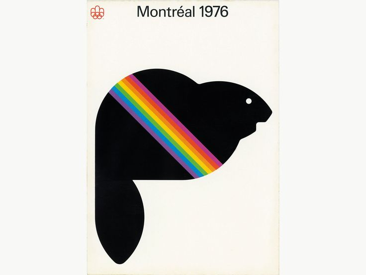 The Surprising History of Canada's Most Iconic Designs | A poster for the 1976 Olympics.  | Credit:Affiche | From WIRED.com