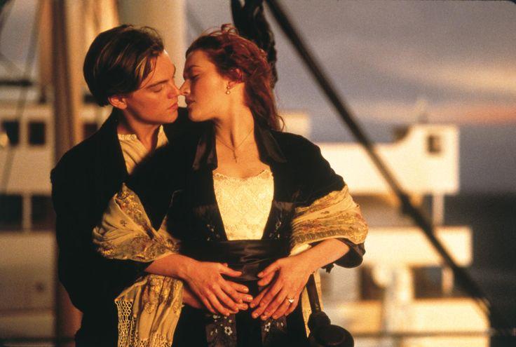 Still of Leonardo DiCaprio and Kate Winslet in Titanic