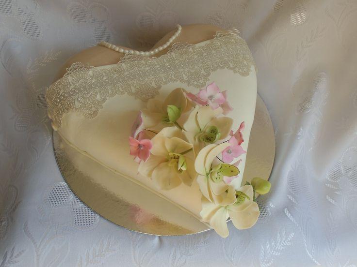 svadobná torta nevesta