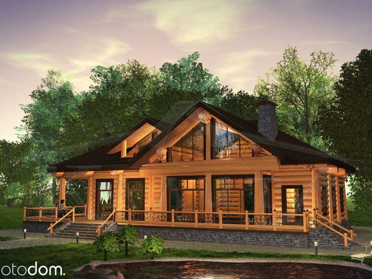1 699 000 zł: Opis Nieruchomości:Posiadamy na sprzedaż śliczny nowoczesny dom. Budynek wykonany z bali drewnianych ręcznie korowanych.Cena 1 699 000 zł dotyczy budynku w sta...