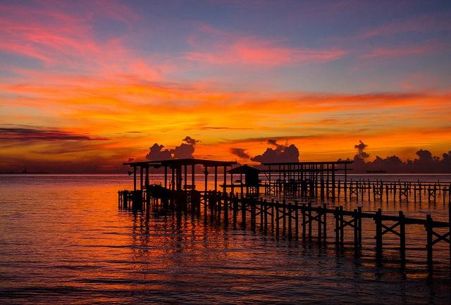 Dock of the Bay by TPorter2006, via Flickr - Galveston Bay