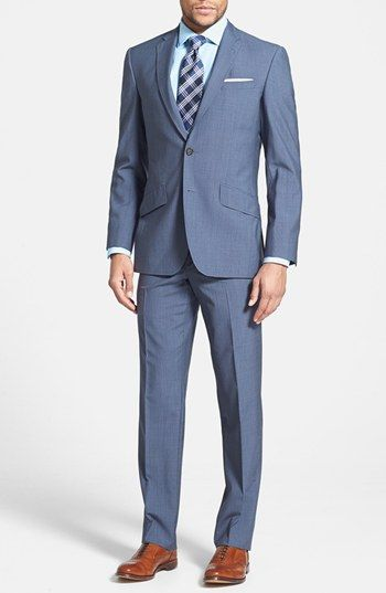 Ted Baker London 'Jones' Trim Fit Check Suit available at #Nordstrom