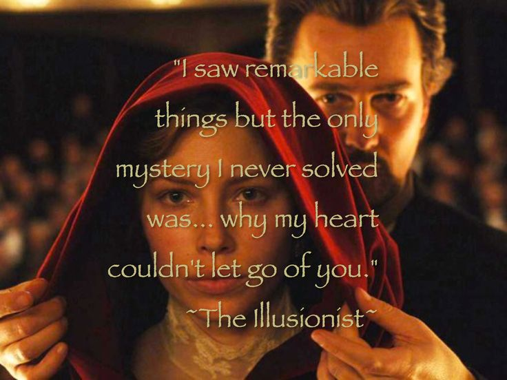 ~The Illusionist~ | Movies | Pinterest