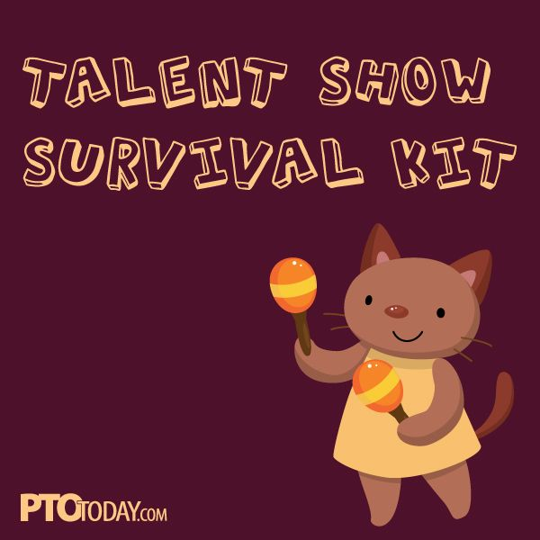 Is it time to start planning your school's talent show? #pto #pta