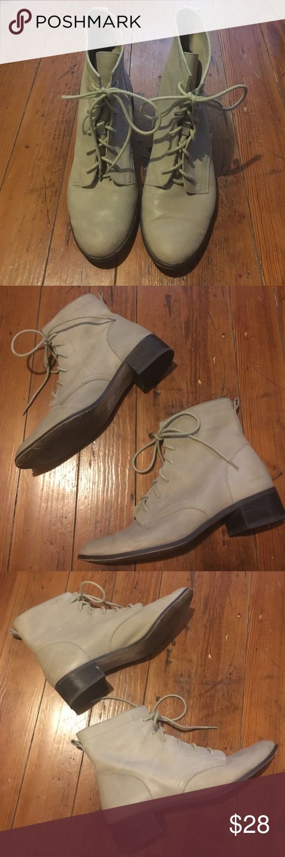 Seychelles Boots Beautiful lace-up soft leather boots. Almost look vintage! Seychelles Shoes Ankle Boots & Booties