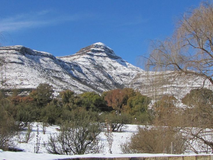 Winter in Clarens, South Africa