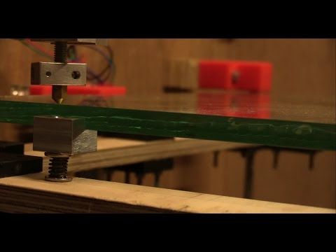 DIY 3D-Printer Build (From Scratch) - Part 6a: Installing Print Bed - Ec-Projects - YouTube