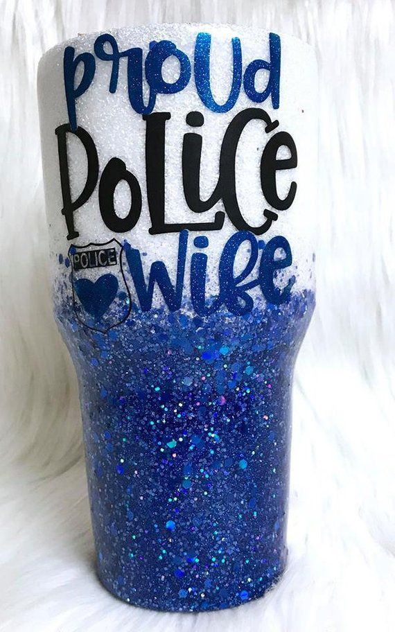 Police Wife Tumbler Cup