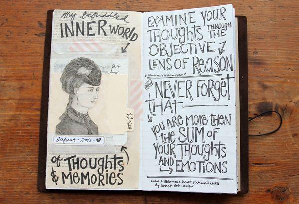 Recent Journaling: Traveler's Notebook Peek No. 3