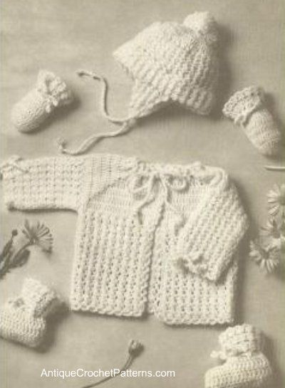 ★★ Puff Stitch Baby Set