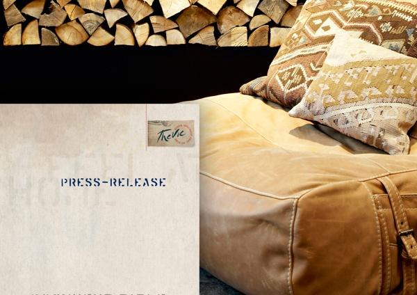 Logo design and visual identity for trend shop Denmark by Lone Halkjaer, via Behance