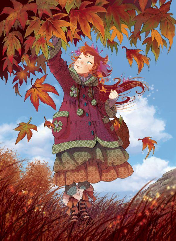 Vanilla Periwinkle. Autumn