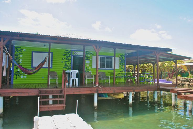 The only over-the-sea surf camp in Bocas Town, Bocas del Toro. Teaching surf since 2006! www.BocasSurfSchool.com