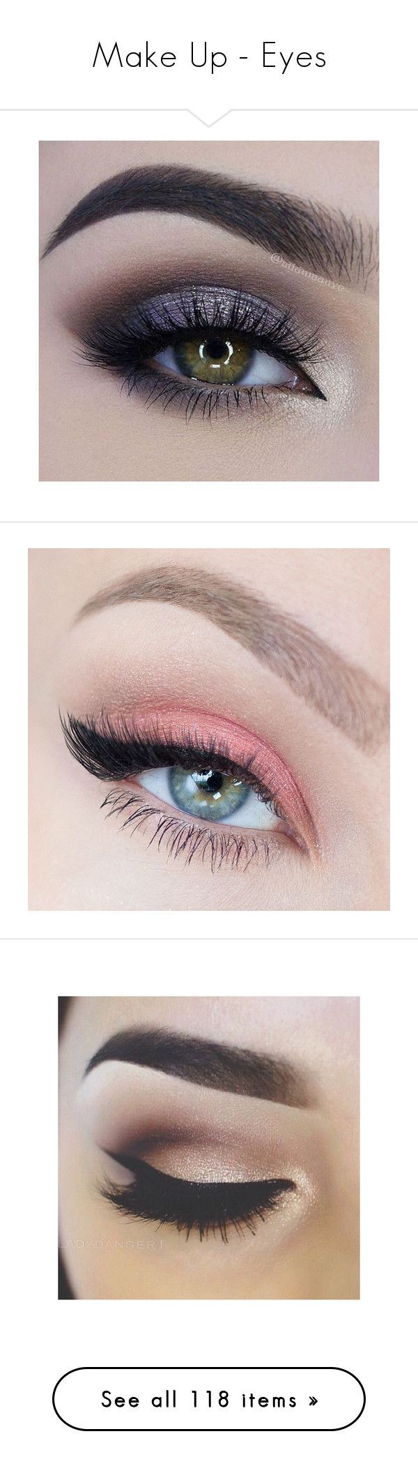"""""""Make Up - Eyes"""" by giovanna1995 ❤ liked on Polyvore featuring beauty products, makeup, eye makeup, eyes, beauty, makeup looks, eyeshadow, filler, photo and eyeliner"""