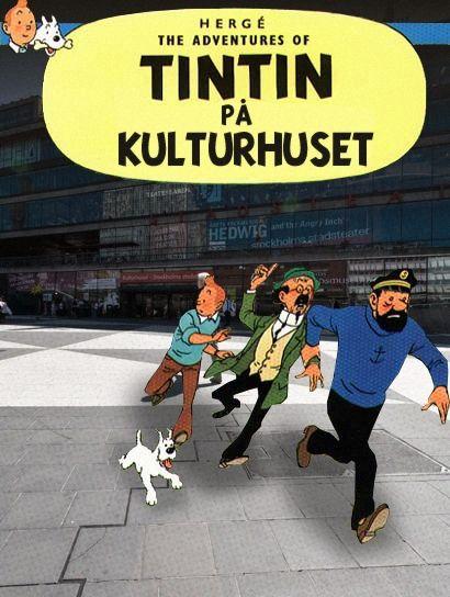 Tintin på kulturhuset | Nöjesguiden