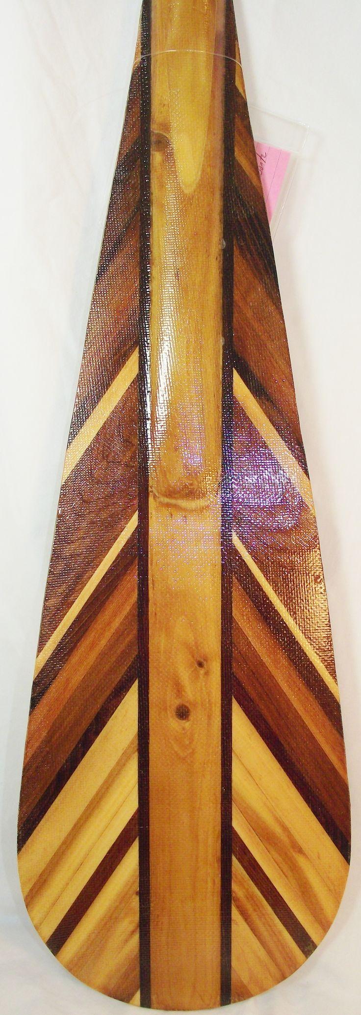 Gorgeous Muskoka made paddle.