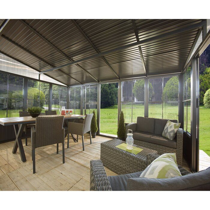 Charleston 16 Ft W X 10 Ft D Aluminum Patio Gazebo Patio Gazebo Patio Aluminum Patio