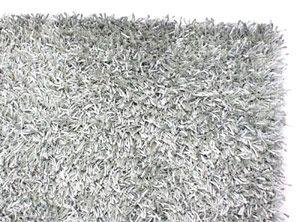 Alfombra 160x220cm shaggy peppy silver. - COLECCIONNE