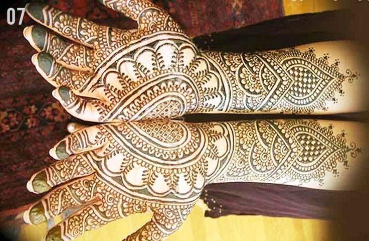 Marwari mehndi design