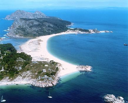 "Las Islas Cíes, Galicia, Spain: best beach in the world according to ""The Guardian"""