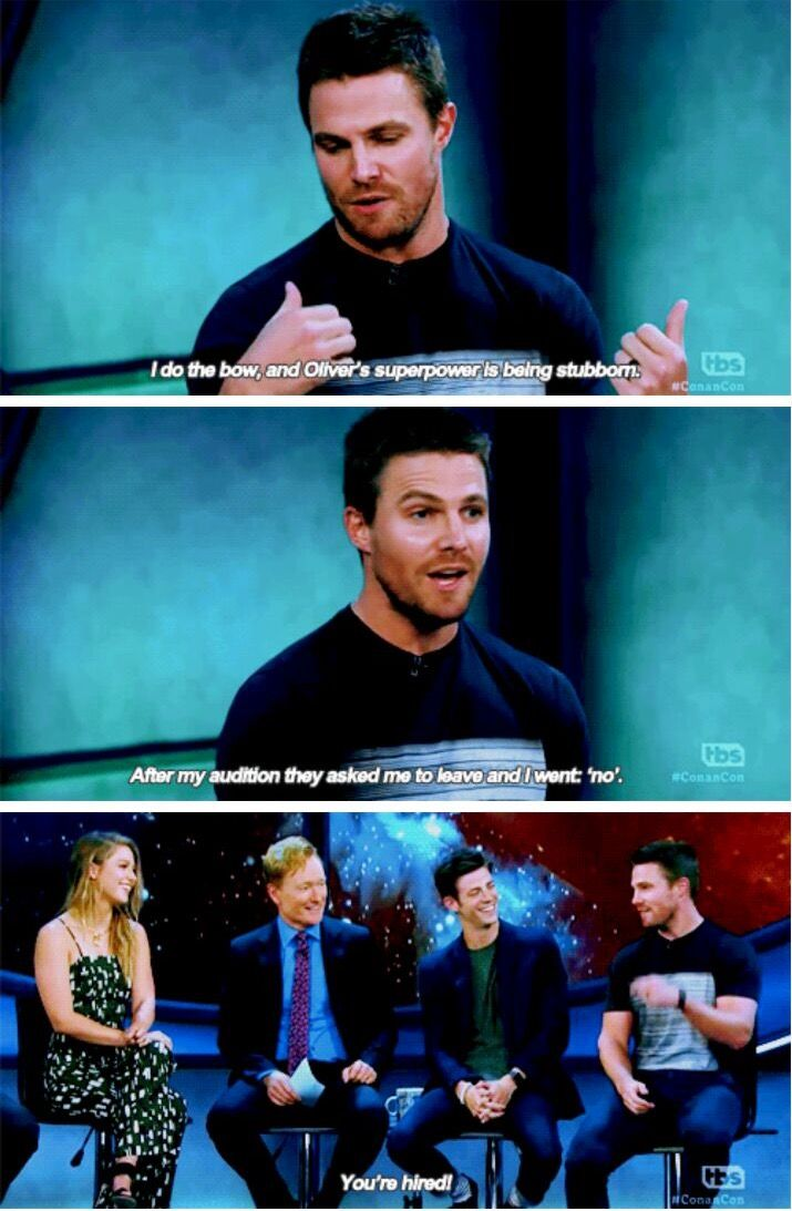 Now, let's talk about your superpowers. - Stephen on Canon #sdcc2016
