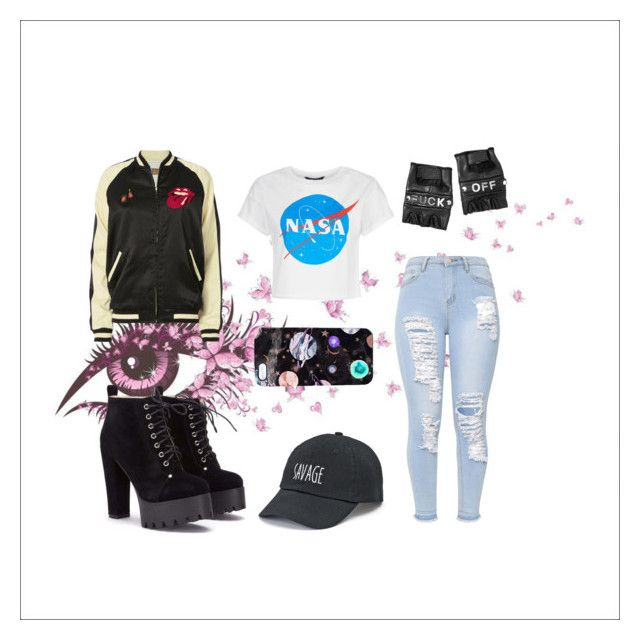 """""""Untitled"""" by isabelle071102 on Polyvore featuring MadeWorn, SO, Nikki Strange and Funk Plus"""