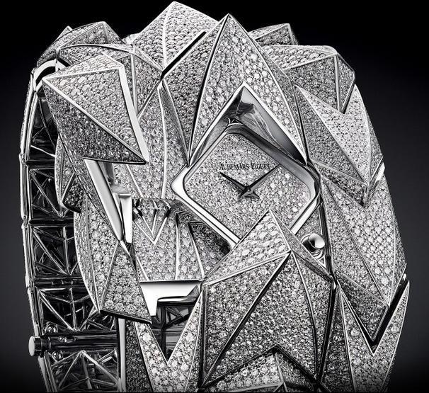 Audemars Piguet Haute Joaillerie Diamond Fury 79420BC.ZZ.9190BC.01 - швейцарские женские часы наручные, белые, браслет