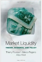 This book offers a take on the liquidity of securities markets, its determinants, and its effects. The authors present the basic modeling and econometric tools used in market microstructure - the area of finance that studies price formation in securities markets. The book starts with an overview of the various trading mechanisms used in financial markets and of the techniques used to measure liquidity empirically. It then goes on to explore how features of market design (...)  Cote	: 5-7 FOU