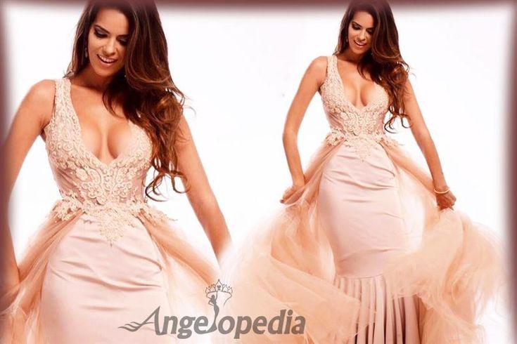 Valeria Piazza crowned as Miss Peru Universo 2016
