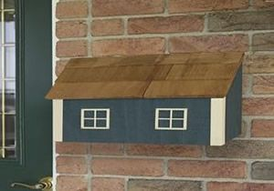 Amish House Style Wall Mount Mailbox