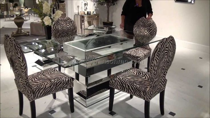 Animal Print Dining Room Chairs