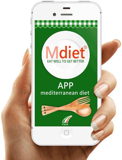 MDiet APP Dieta Mediterranea | Nutrirsi Bene per Stare Meglio
