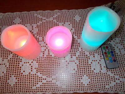 Euro Contest: Ohuhu Candele senza Fiamma a Batteria Cera Reale Candele Cambiamento Colore Candele LED su Amazon