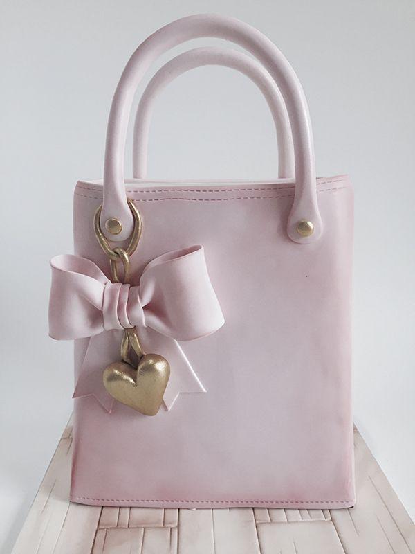 Handbag cake by Jenelle Fitzpatrick of Jenelle's Custom Cakes