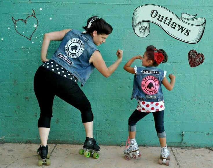 Mother daughter pin up/rockabilly photo shoot