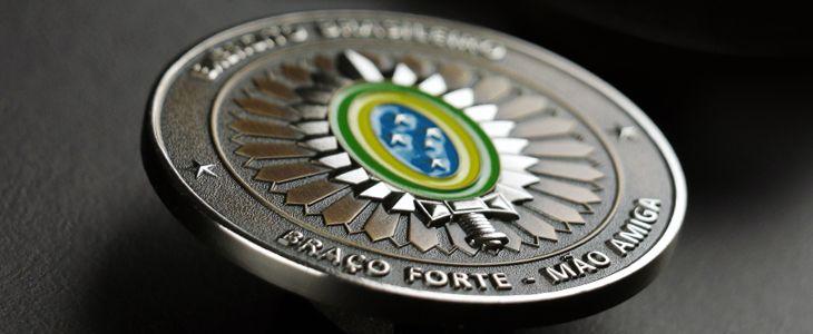 A moeda personalizada do Exército Brasileiro - Tocoin Moedas e Medalhas Personalizadas