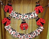 ladybug party ideas | lady bug party ideas on Etsy, a global handmade and vintage ...