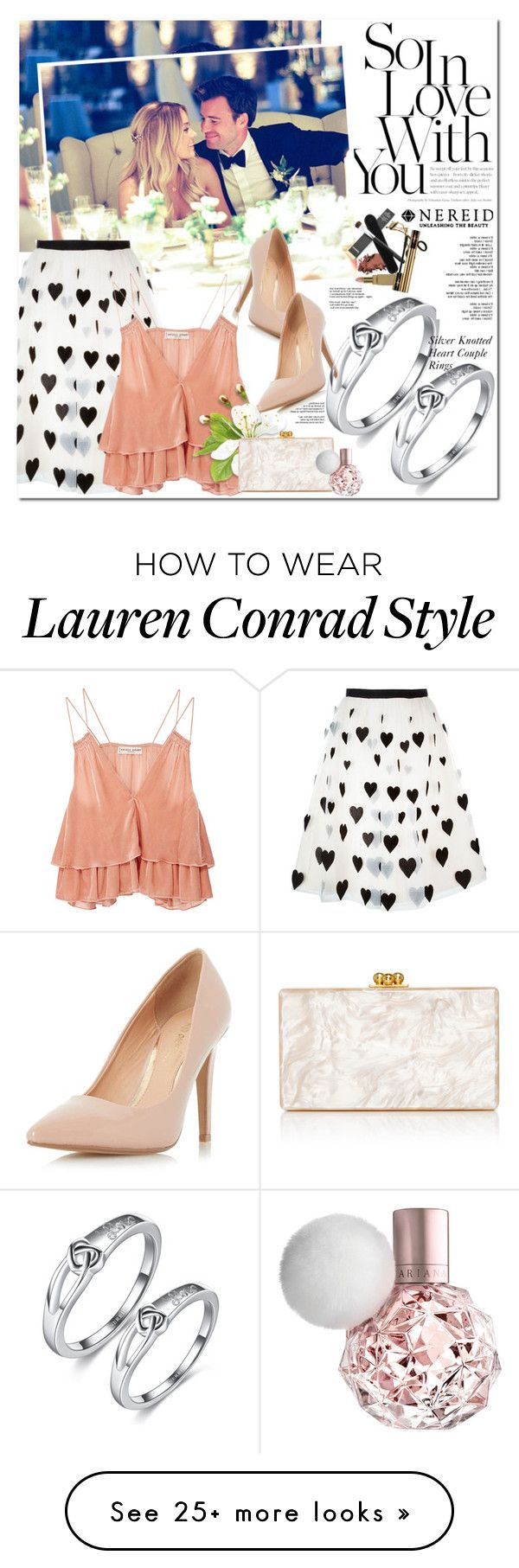 """""""www.nereid.com"""" by oshint on Polyvore featuring Lauren Conrad, Dorothy Perkins, Alice + Olivia, Apiece Apart and Edie Parker"""