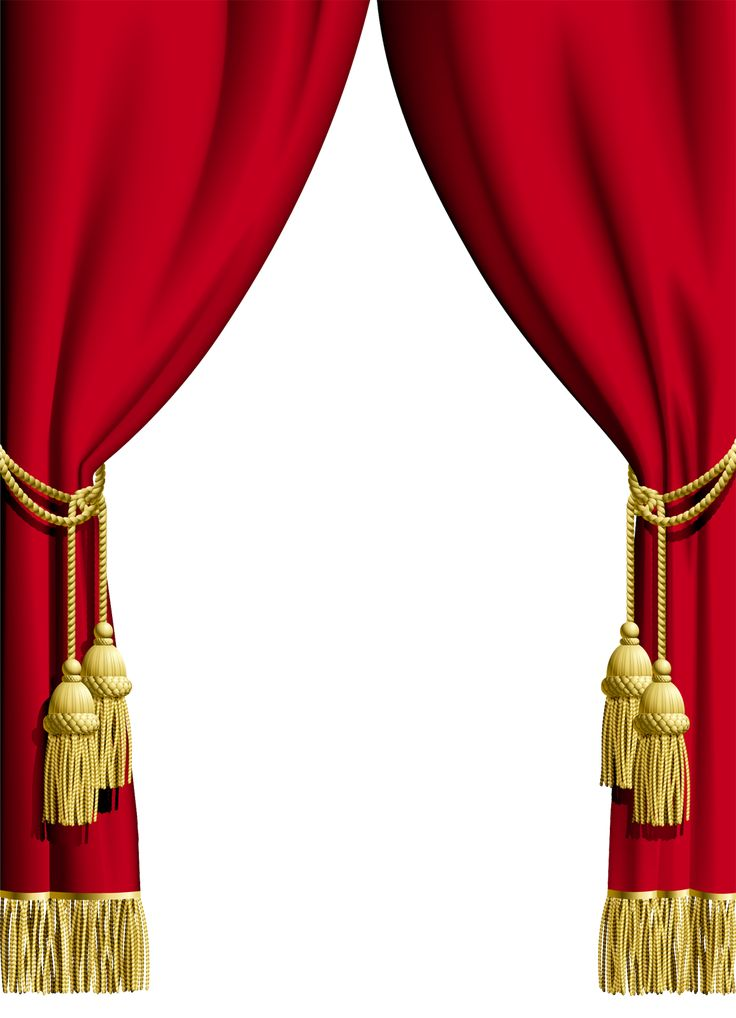 Red Curtain Transparent Frame  Frame It  Red curtains Stage curtains Curtains vector