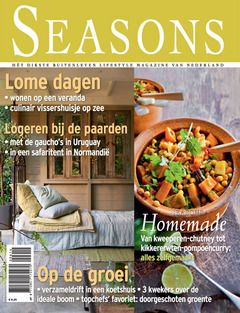 Seasons magazine cover september 2014, Styling Linda van der Ham, Photographer Dennis Brandsma. Netherlands.