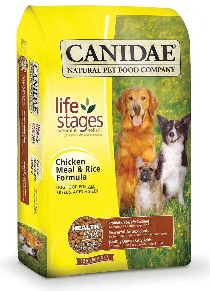 CANIDAE Life Stages Chicken Meal & Rice Formula Dog Food