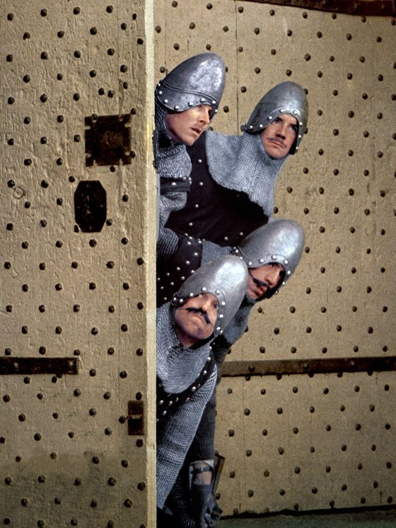 Monty Python aAnd The Holy Grail (1975) by Terry Gilliam, Terry Jones with Graham Chapman, John Cleese, Eric Idle, Terry Gilliam, Terry Jones...