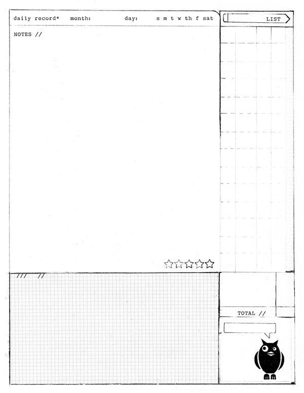novel notes template - daily record amanda hawkins sketching sketchbooks and