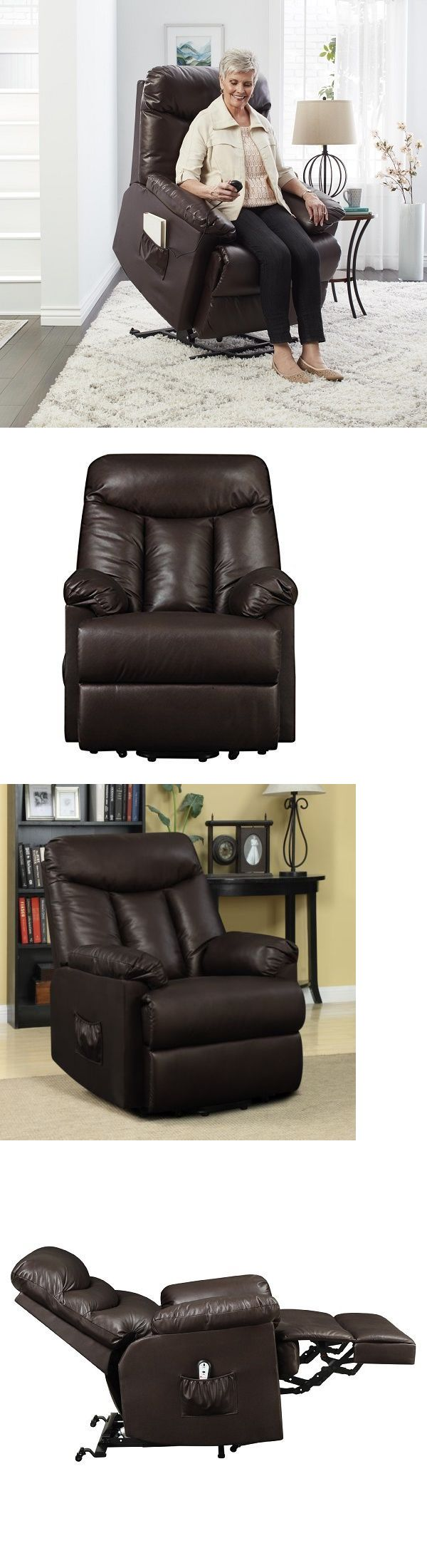 stairlifts and elevators power recliner lift chair electric pro lounger wall hugger medical support 300lb