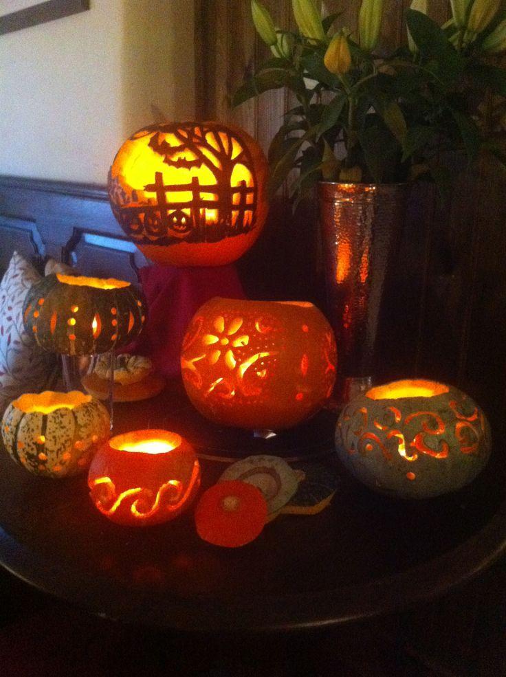 pretty pumpkin carving ideas halloween pinterest