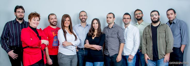 Meet Our Team! It is people that drive a company forward. It's who we are. www.datascouting.com ( (Website design by SV/Projects www.svprojects.gr)