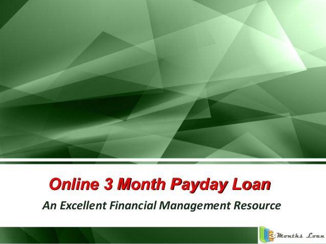 Online payday loan - an excellent financial management resource to help with your emergencies by Daniel Max via slideshare